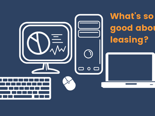 The benefit of leasing IT equipment
