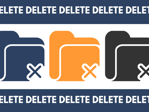How to delete data properly