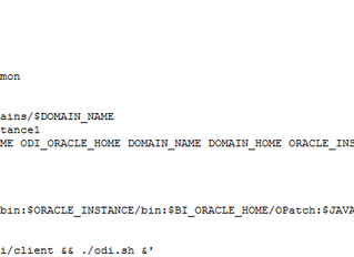 Oracle Business Intelligence Applications (OBIA) 11.1.1.10.2 Installation on Oracle Linux 7.2 - Fina
