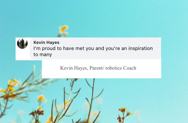 Kevin Hayes, Parent/ Robotics Coach