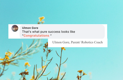 Ulmon Gore, Parent/ Robotics Coach