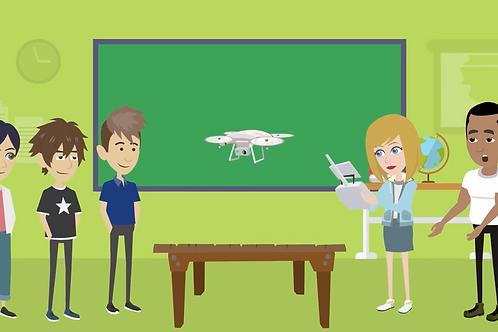 S.T.E.A.M.ed Drones Classroom Bundle: Gold
