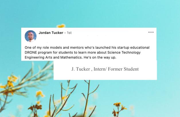J. Tucker , Intern/ Former Student