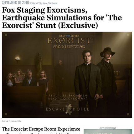 Hollywood Reporter - Exorcist