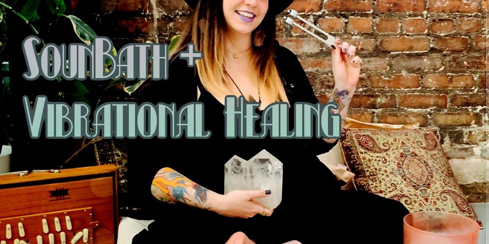 Soundbath + Vibrational Healing