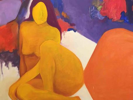 Blanche Malin Rubin Oil Painting