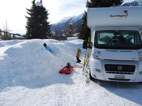 Camping Augenstern, Reckingen (14.02. - 16.02.2014)