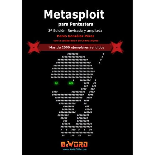Libro Metasploit para pentesters 3ª Edición