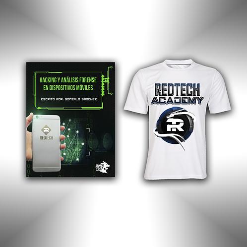 Paquete manual Hack Moviles & Playera RedTech