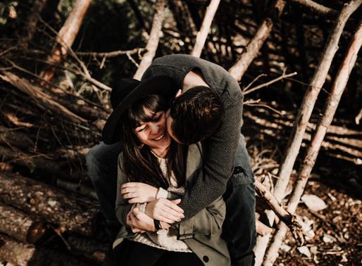 Aurélie & Anthony - Séance engagement - Forêt des Cèdres - Luberon.