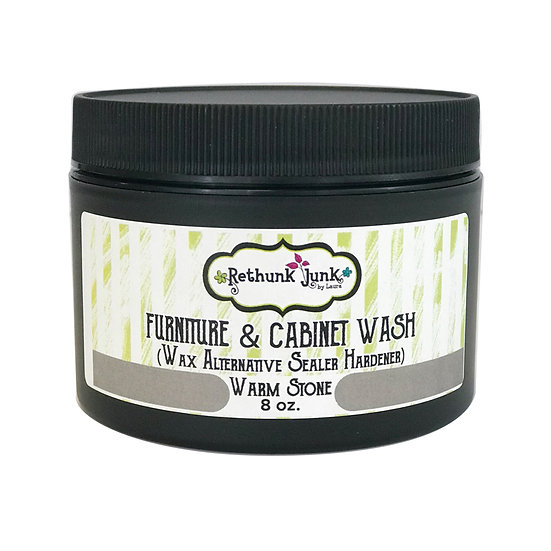 Rethunk Junk Resin Paint - Wash - Warm Stone 8oz.