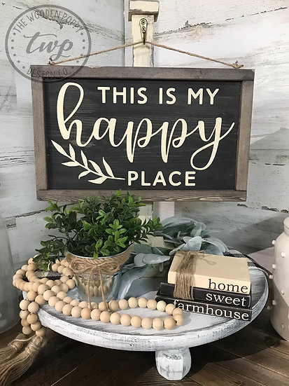 Double-Sided Hanging Sign Only (NO STAND) DIY Kit