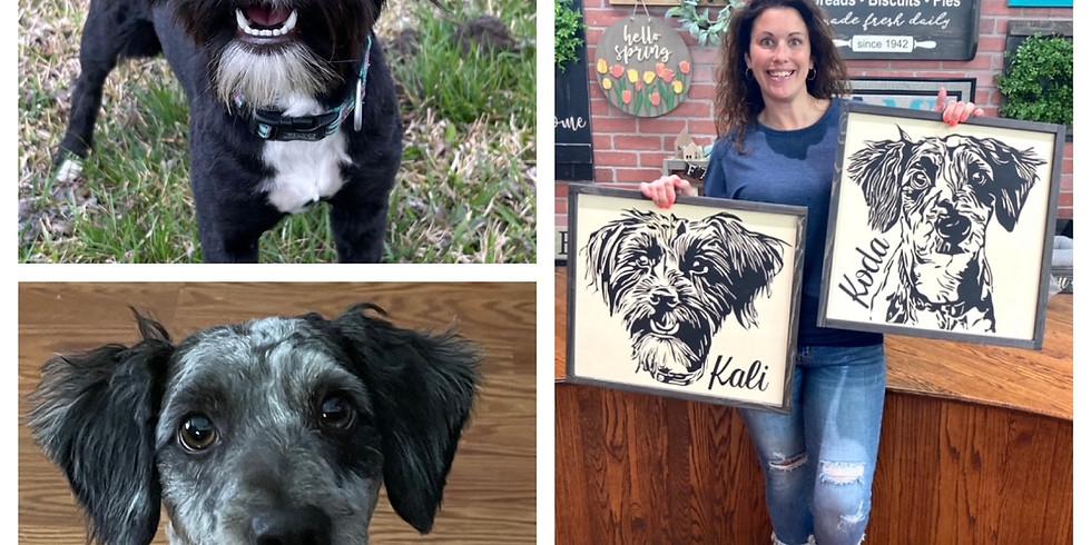 PlayStayTion Pet Resort presents Paint Your Pet @ Fitzel Winery