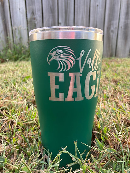 VALLEY VIEW EAGLES Laser-Engraved 30oz. Tumbler