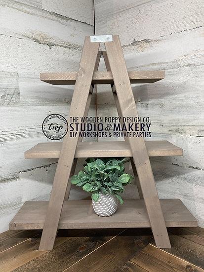Ladder 3-Tiered Tray/Shelf