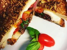 Steak Caprese Sandwich
