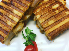 Barbecue Shrimp Sandwich