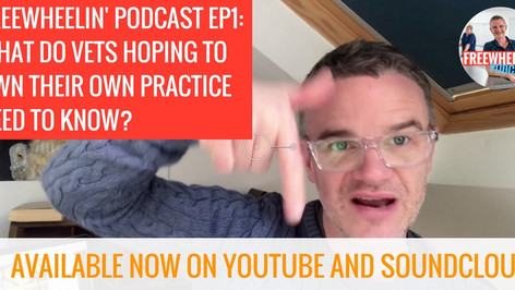 Freewheelin' Ep 1: What do vets hoping to own their own practice need to know?