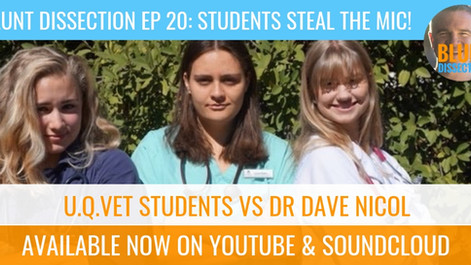 Blunt Dissection Ep 20: Students Steal The Mic!