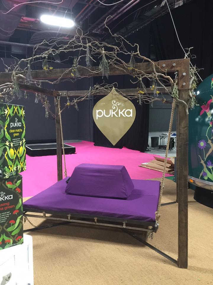 Pukka Herbs Stand Manchester
