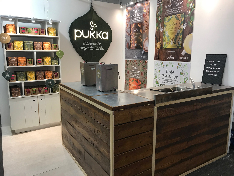 Pukka Tea Wall