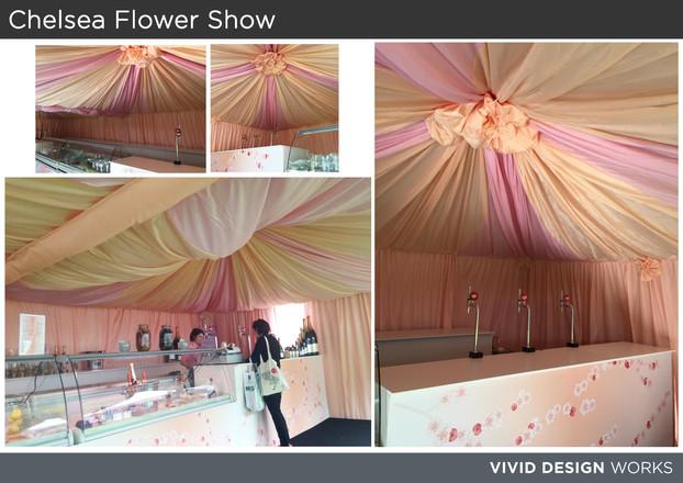 Chelsea Flower Show Drapes