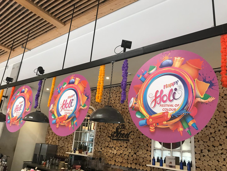 Holi Festival at Sky Headquarters
