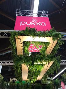 Pukka Stand at Biofach in Nurenburg