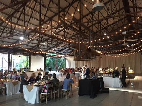 Evergreen Brickworks wedding