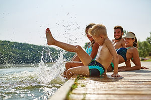 fun zone, vodní atrakce, parníček, aquaroller, paddleboard, petanque, rybar, lipno, lipno nad vltavou