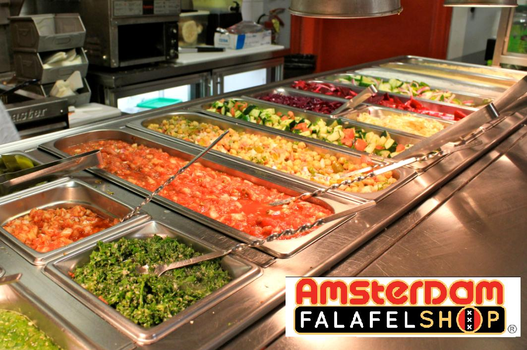 salad bar with af logo