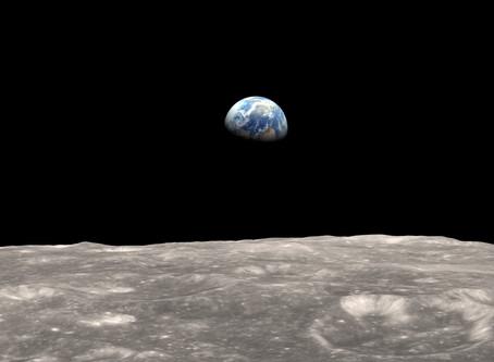 Muito além da Terra vista do espaço