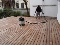 Terrasse richtig pflegen