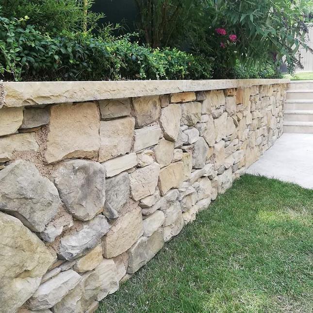 Wand-Verkleidung-Stein-Fliesen