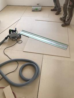 Unterboden mit OSB-Platten herstellen