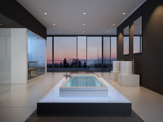 Fliesen im Bad - völlig neue Möglichkeiten durch moderne Fliesengestaltungen