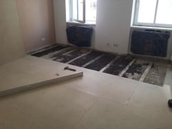 Aufbau vom Unterboden