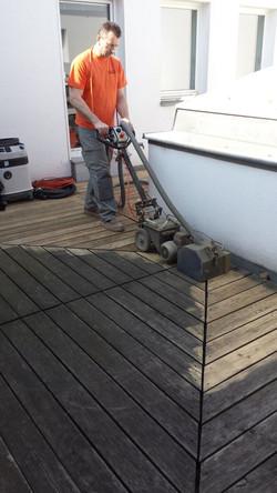 Terrassen reparieren