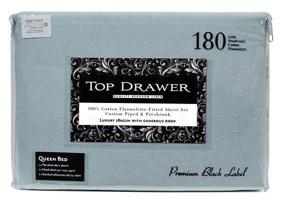 Top Drawer Queen cotton flannelette fitt