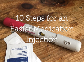 10 Steps for an Easier Medication Injection