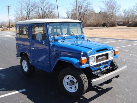 Sold - Low Miles 82 FJ40 - PS & A/C