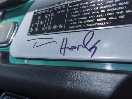 Tom Hanks FJ40 heads to Auction.