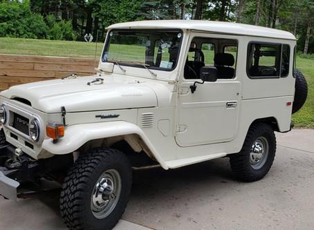 Sold - 1977 FJ40 Power Steering