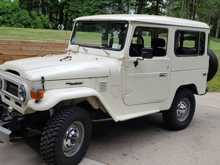 Sold - 1977 FJ40 Power Steering