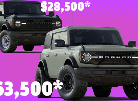 2021 Ford Bronco Trim Levels And Option Packages Explained