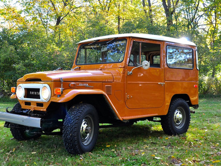 SOLD - 1973 POLLUX ORANGE