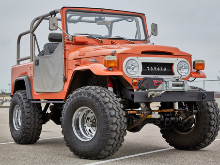 Put Yourself In This Classic FJ40