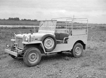 """TOYOTA """"JEEP,"""" THE FIRST LAND CRUISER"""