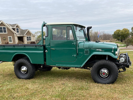 1966 Cummins-Powered FJ45