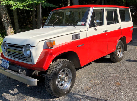 Classic 70's FJ55 Wagon